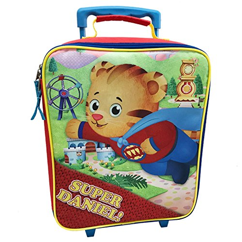 The Fred Rogers Company Kids' Daniel Tiger Pilot Case, Red