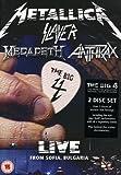 The Big Four - Live from Sofia, Bulgaria [2 DVDs]