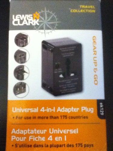 - Lewis N. Clark Universal 4-in-1 Adapter Plug