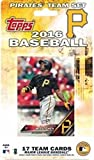 Pittsburgh Pirates 2016 Topps MLB Baseball Factory Sealed Special Edition 17 Card Team Set with Andrew McCutchen Russell Martin Plus