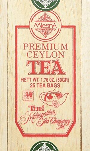 Maple Tea, 24 Tea Bags in a Decorative Metal Tin. A Fantastic Holiday Gift. (Maple Canada Tea)