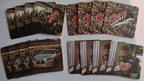 David Stremme Coors Light #40 Set of 12 Cardboard coasters - Coors Light Coaster Set