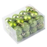 24Pcs-Christmas-Tree-Decoration-Ball-Pendants-Holiday-Party-Christmas-Tree-Ornaments-Apple-Green