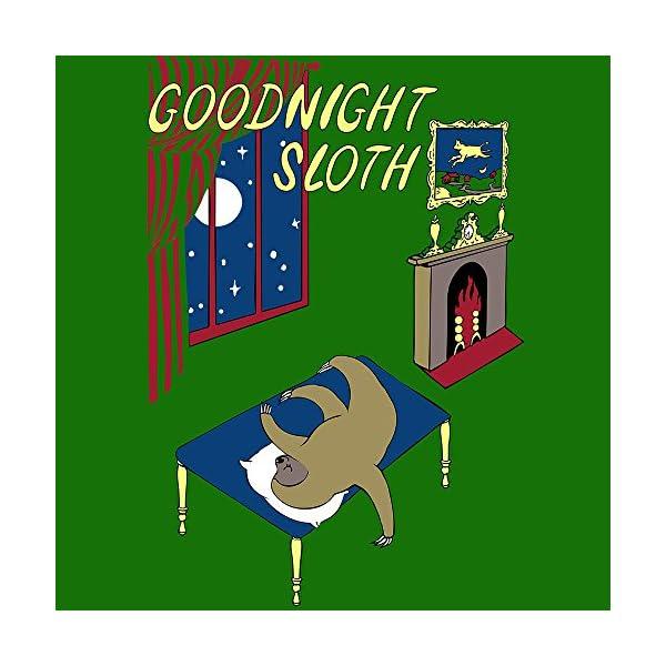 Sharp Shirter Goodnight Sloth Throw Pillow - 14&Quot; X 14&Quot; -