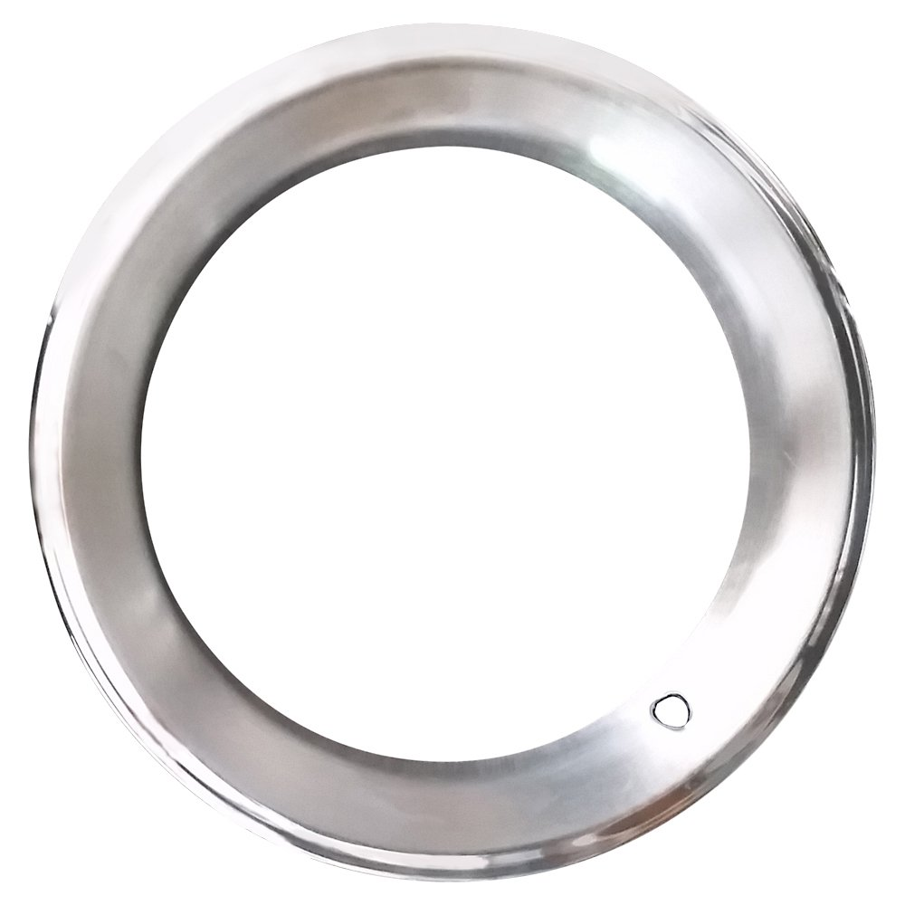 14'' x 6'' Beauty Trim Ring NOS Chrome OEM Rally Wheel Cover GM Pontiac