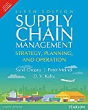 img - for Supply Chain Management: Strategy, Planning, and Operation by Sunil Chopra (2016-11-09) book / textbook / text book