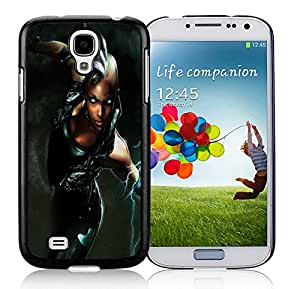 Hot Sale Samsung Galaxy S4 Case ,Unique And Lovely Designed Storm X-Men Cover Case For Samsung Galaxy S4 Black Phone Case CR-600