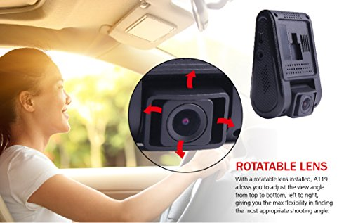 VIOFO Compact A119 V2 (New A119G 2018 Stock) + EVA Foam, 1440p DashCam (V2 GPS Mount Included! Quick Eject) Optional A11CPL (CPL) not included. (OCD Tronic Certified) by VIOFO (Image #7)