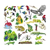 Felt Fun - Jungle Rainforest Animals Set - 23 Precut Flannel Board Figures