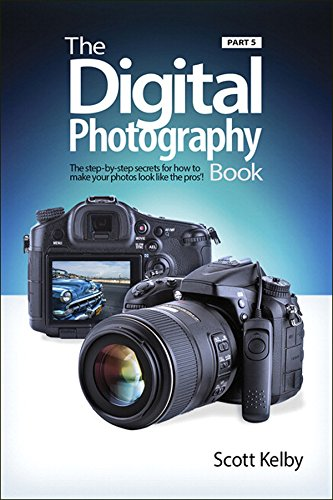 """Scott Kelby, author of the top-selling digitalphotography book of all time, is back withan entirely new book in his popular seriesthat picks up right where part 4 left off. It'smore of that """"Ah ha—so that's how they doit,"""" straight-to-the-point,..."""