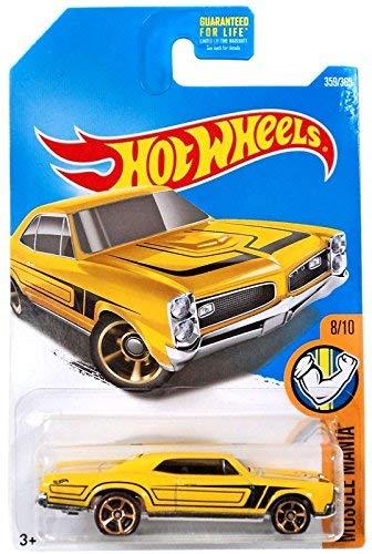 Hot Wheels '67 Pontiac GTO Muscle Mania 359/365, - Cars Gto Muscle