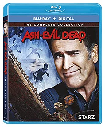 amazon com ash vs evil dead ssn 1 3 coll blu ray bruce campbell