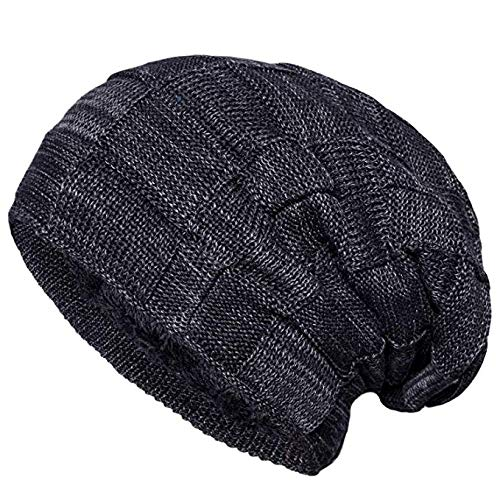 Senker Slouchy Beanie Knit Cap Winter Soft Thick Warm Hats for Men and Women