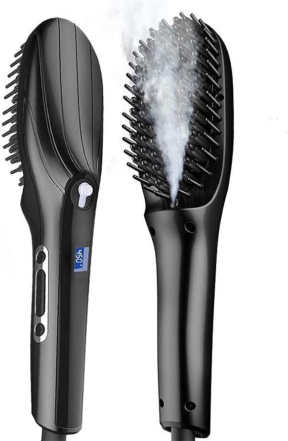 Peine cepillo para alisar el cabello, peine alisador, alisador de ...