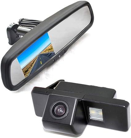 Vardsafe VS536R R/ückfahrkamera und Ersatzspiegel-Monitor f/ür Citroen Jumpy Dispatch SpaceTourer Peugeot Expert Traveller ProAce