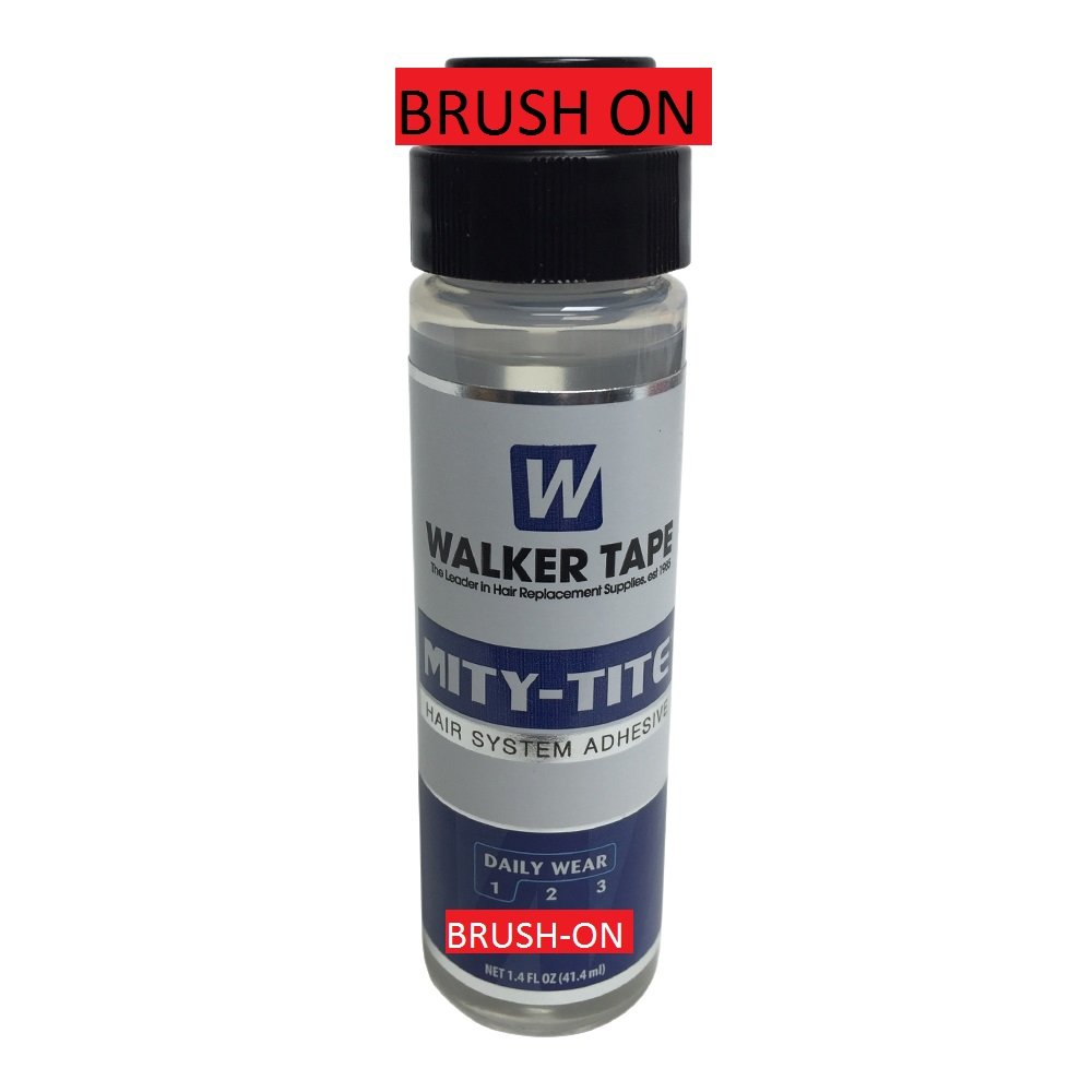 WALKER MITY-TITE 1.4 OZ WATER PROOF TOUPEE ACRYLIC ADHESIVE GLUE LACE WIG HAIR Walker Tape