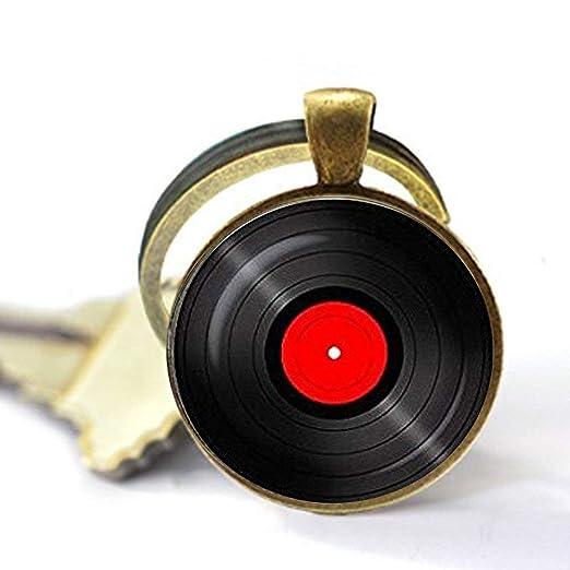 Llavero de vinilo. Llavero Gramophone Record Álbumes de ...