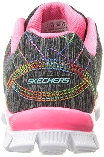 Deporte Y Niñas Rosa Appeal bkmt Electric Zapatillas it's De Skech Skechers Negro YpxzqFg