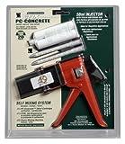 PC Products PC-Concrete Epoxy Adhesive Paste Kit, 50ml Cartridge and PPM-50 Dispensing Gun, 70529