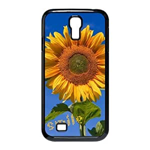 Fashion sunflower Personalized samsung galaxy s4 i9500 Case Cover