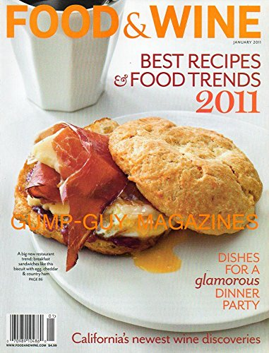 FOod & Wine Magazine (Best Recipes & food trends 2011, January 2011) (Best Pepperoni Roll Recipe)