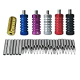 31 Stainless Steel Tattoo Tubes Grips Nozzle Tips Kit