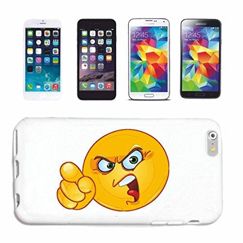 """cas de téléphone iPhone 7+ Plus """"SCHIMPF ENDER EVIL SMILEY """"SMILEYS SMILIES ANDROID IPHONE EMOTICONS IOS grin VISAGE EMOTICON APP"""" Hard Case Cover Téléphone Covers Smart Cover pour Apple iPhone en bla"""
