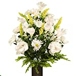 White-Peony-and-Daisy-Mix-featuring-the-Stay-In-The-Vase-DesignC-Flower-Holder-LG1951
