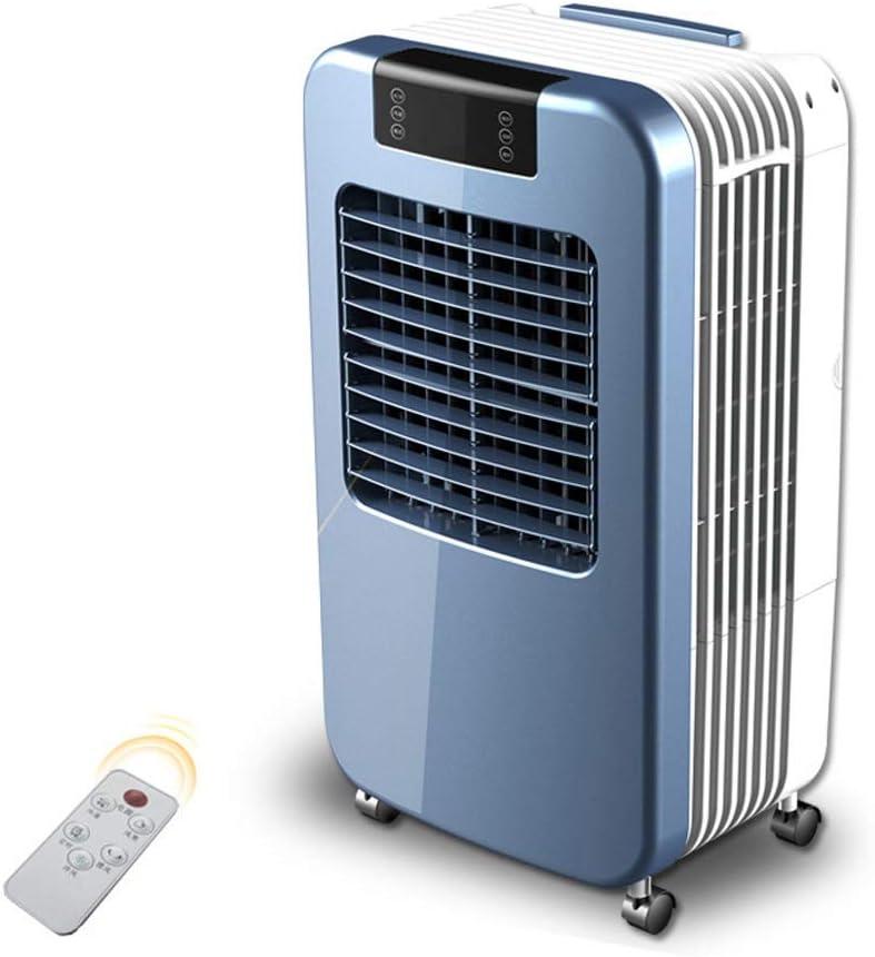 KAX Aplicación de varias escenas Mute por ventilador Función de purificador de aire y aire acondicionado con control remoto industrial 3 en 1 super enfriado por aire, oscilación de 3 velocidad: Amazon.es: