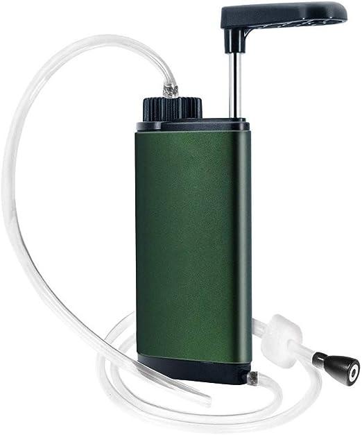 Sistema de purificador de filtración de agua al aire libre ...