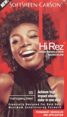 Hi Rez Hair Color - Hi Rez High Resolution Hair Color - #20 - Mahogany Blast Kit (Pack of 2)