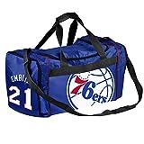 Image of FOCO BGNBSMU13DUFPHLJE NBA Philadelphia 76ers Joel Embiid  21 Core  Duffle d522c7dc8