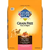 #10: Nature's Recipe Grain Free Easy to Digest Dry Dog Food, Salmon, Sweet Potato & Pumpkin Recipe, 24-Pound