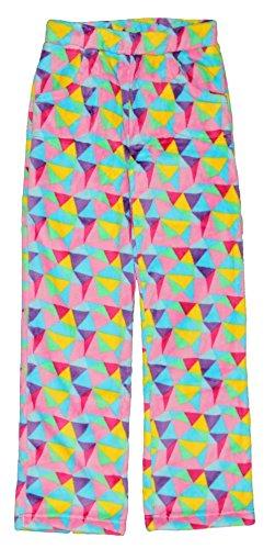 Pink Pyjama Pants - Candy Pink Big Girls' Geo Pant 7/8 Multi