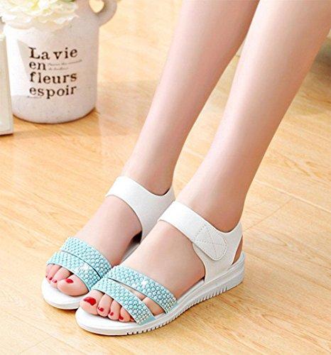 De Mujeres Las Con F Suaves Sandalias Antideslizantes Zapatos Planos Inferiores R8qpxEf6Pw