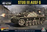 Bolt Action StuG III AUSF G German Assault Gun Tank 1:56 WWII Military Wargaming Plastic Model Kit