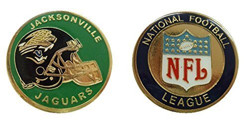 Jaguars Collectible Challenge Coin- Logo Poker - Lucky Chip
