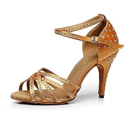 Baile Para Descuento Adultas Zapatos Danza Latino 50De Yogly UVGqSpzM