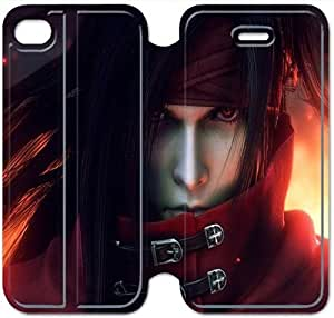 Leather Smart Cover With Flip Stand Phone Case iphone 5 5s-Final fantasy-28