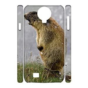 Best-Diy CHSY case cover DIY Design Woodchuck Pattern cell phone case cover For Samsung Galaxy S4 i9500 GMUktlCr1Nn