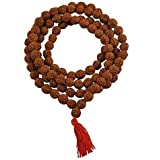 Petrichor Brown 10 to 12 mm Rudraksha Mala for Men and Women