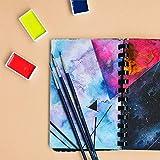 MozArt Supplies Watercolor Paint Brush Set - 15