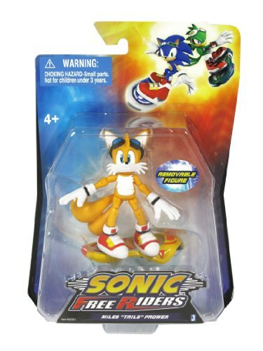 Sonic Free Riders-Miles Tails Prower Action Figure by Sonic (Sonic Free Riders Sonic)