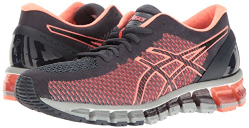 ASICS Women's Gel-Quantum 360 cm Running Shoe, India Ink/Flash Coral/Mid Grey, 9 M US by ASICS (Image #6)