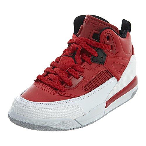 NIKE Air Jordan Spizike Boys Pre-School mens fashion-sneakers 317700-603_13.5C - Gym Red/White (Preschool Jordans Shoes)