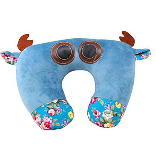 - Comfspo Animal Shaped Pilllow Plush U Pillow Neck Pillow