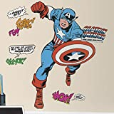 Roommates Rmk2338Gm Captain America Classie Peel And Stick Giant Wall Decals