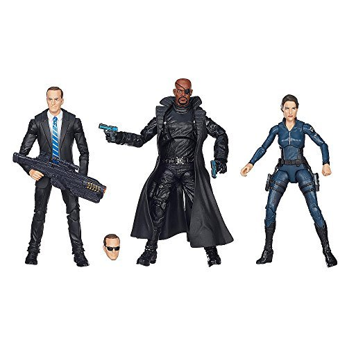 Classic and Comic-inspired designs Marvel Avengers Legends Agents of Shield 3-Pack The Agents of Shield are always there when it counts. Agent Coulson takes control of any mission, Nick Fury makes plans to overthrow even the smartest of villains, and Maria Hill uses her skills in espionage to get 1 step ahead of the enemy. These agents don't need superpowers -- they are powerful all on their own. for $<!--$189.95-->