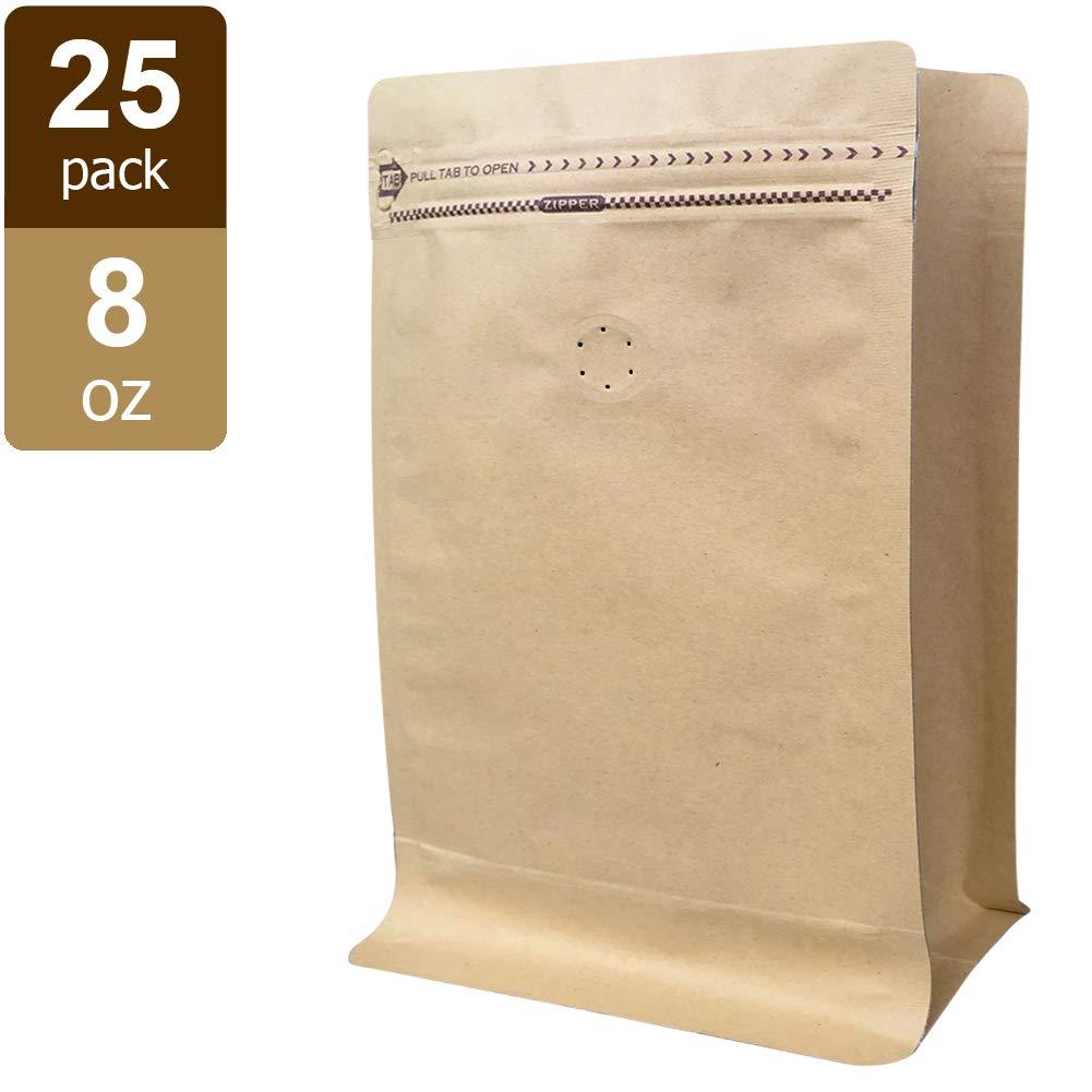 Amazon.com: Bolsas de café de 1 libra – Bolsas de papel ...