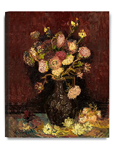 DecorArts - Vase With Asters And Phlox 1886, Vincent Van Gogh Art